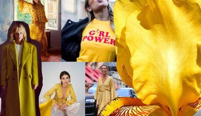 Trendfarbe Gelb