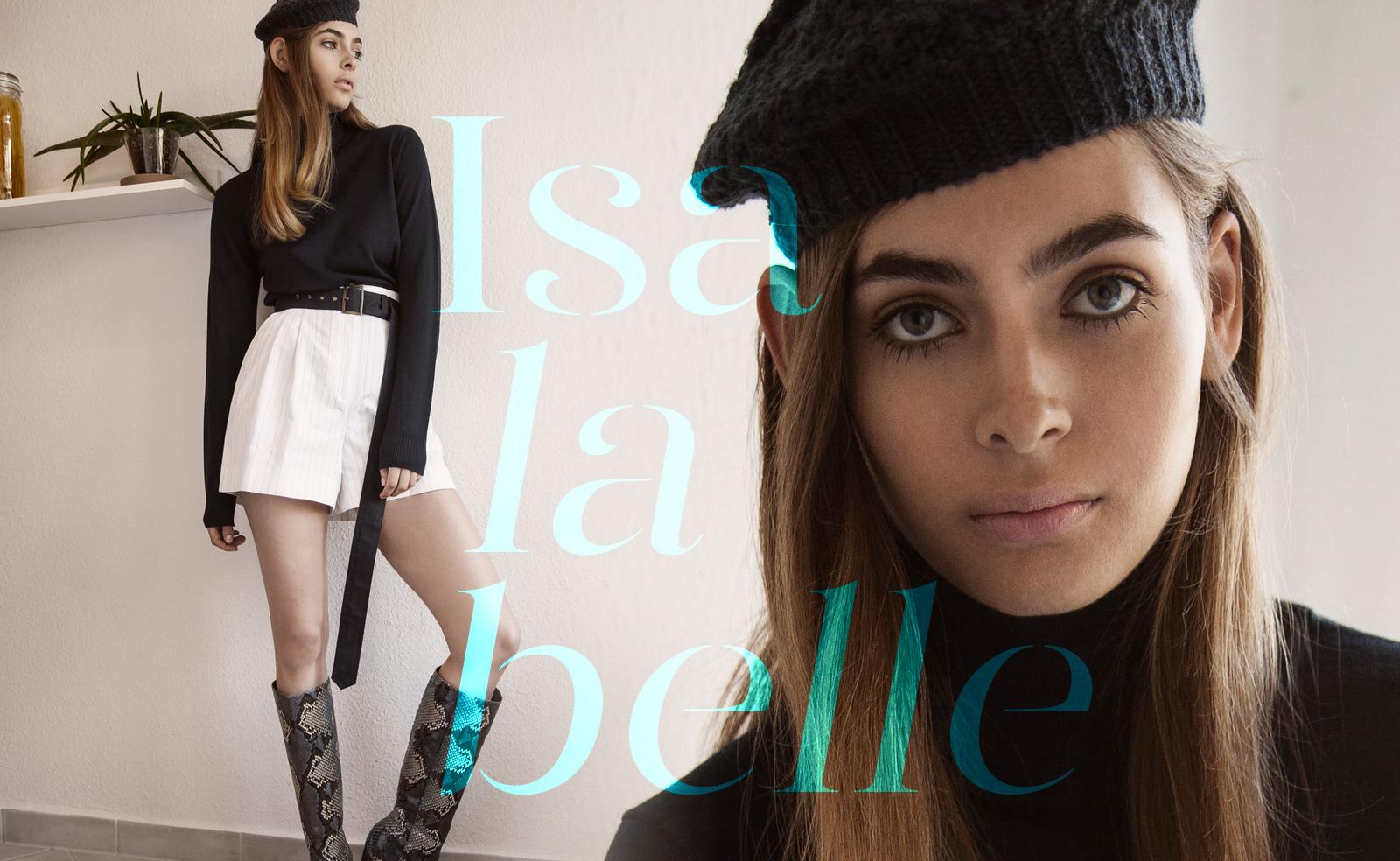 Isa La Belle Fashion Editorial The Clique Suite