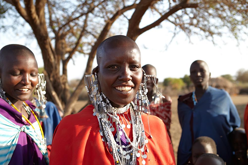 Massai-Frauen