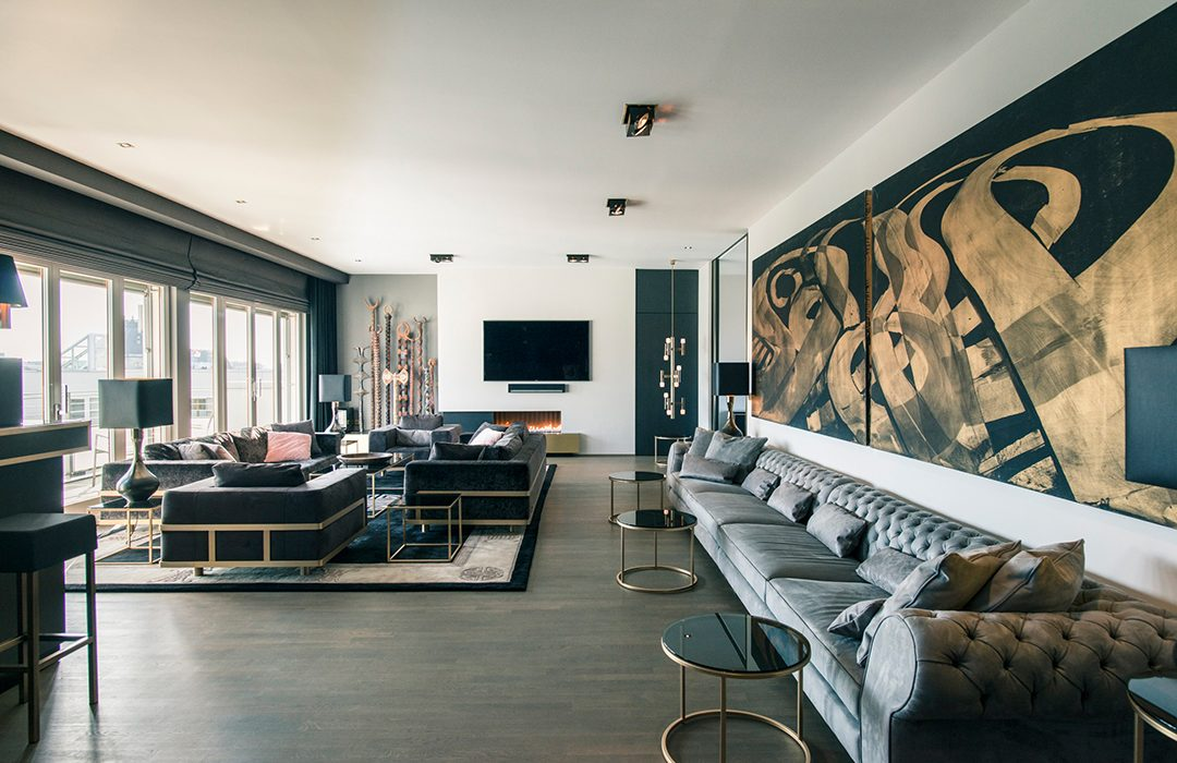 bezahlbare high class apartments in berlin the clique suite. Black Bedroom Furniture Sets. Home Design Ideas
