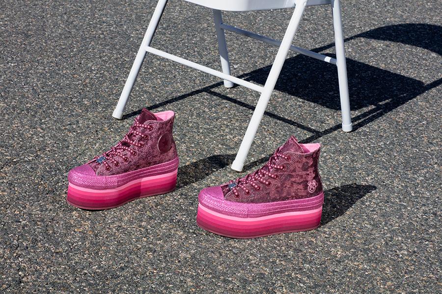 MileyCyrus x Converse