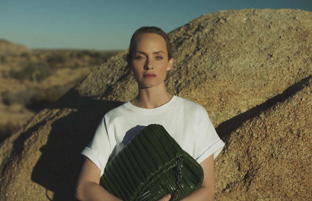 Amber Valetta für Karl Lagerfeld mit Kaktusleder