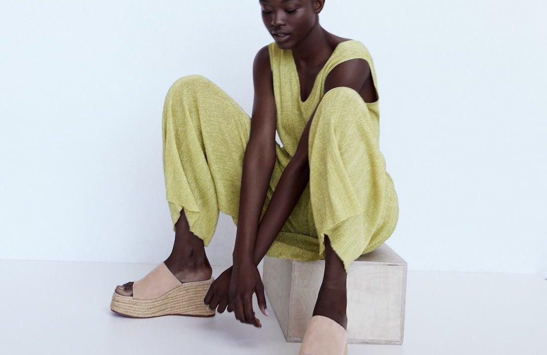Chunky Sandalen von Zara