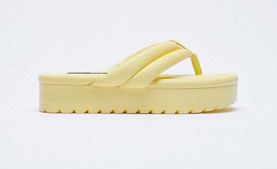 Plateau-Schuhe von Zara
